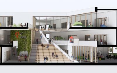 OASE ontwerpt buitenruimte International School Delft!