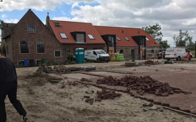 Buitenruimte ontwerp Birckhoeve in aanleg