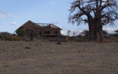 Landschappelijke inpassing lodges Tanzania.